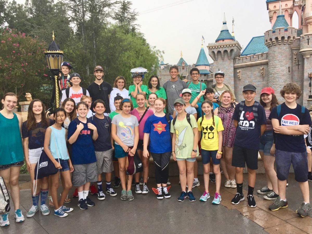Disneyland with USY